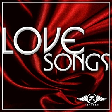 'Love Songs' Station  on Slacker Radio